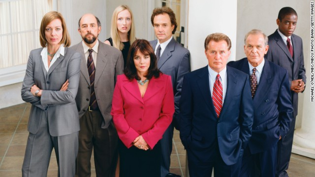"<strong>""The West Wing"" (1999)</strong>: Aaron Sorkin partisans may prefer ""SportsNight,"" but his series about a bold president and his energetic staff won awards and strong ratings."