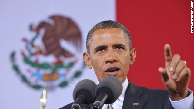 Obama stresses breaking down stereotypes in Mexico speech