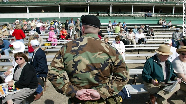 This year's race will be the first major sporting event in the U.S. following last month's Boston Marathon bombings and security will be on high alert. Coolers, cans, fireworks and camcorders are among the items banned from the infield.