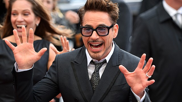 Robert Downey Jr. attends the 2013