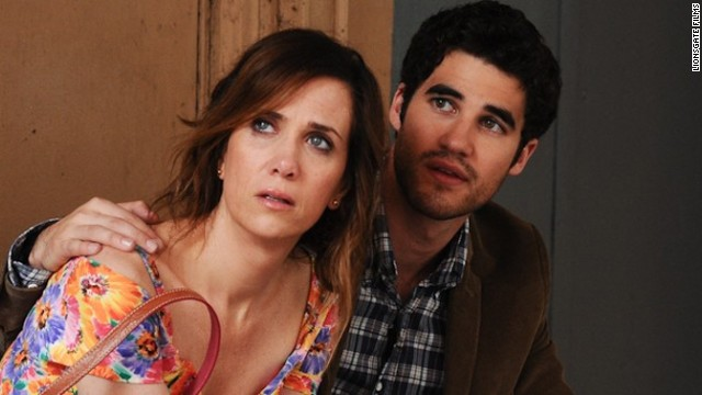 """Kristen Wiig stars in her first post-""""Bridesmaids"""" lead role as a woman whose suicide attempt to win back a guy means she has to go back home and live with mom (Annette Bening). The Bruce Willis-starrer """"Red 2,"""" as well as """"R.I.P.D."""" -- featuring Ryan Reynolds and Jeff Bridges -- also open this weekend."""