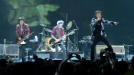 The Rolling Stones kicked off their &quot;50 and Counting&quot; tour with a marching band, guest appearances from Gwen Stefani and Keith Urban, and a double dose of &quot;Satisfaction.&quot;