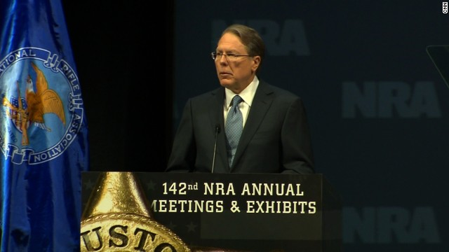 NRA's LaPierre says gun rights struggle a 'long war'