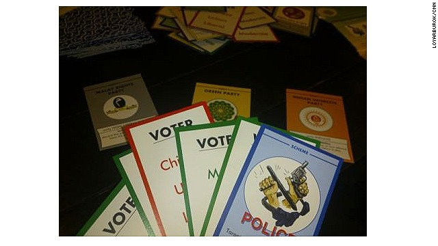 Players of Politiko are asked to out-scheme their opponents in a game that mirrors Malaysian politics