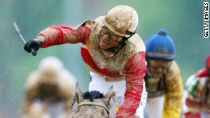 Orb wins muddy Kentucky Derby
