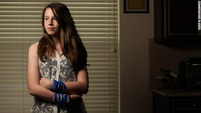 12-year-old tackles 'gross' problem