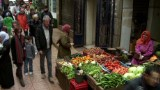 Bourdain explores the souk in Tangier