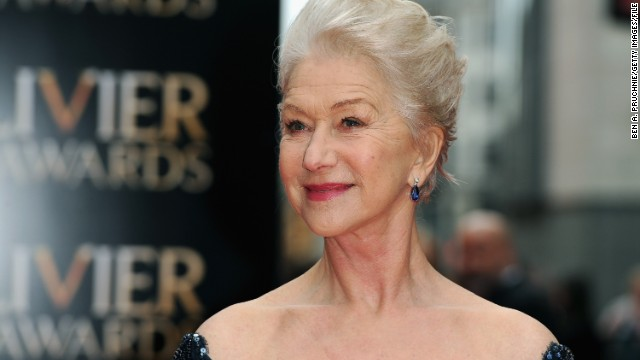 Interrupt Helen Mirren? You should think twice