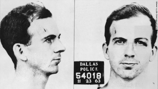 Mugshot of Lee Harvey Oswald, November 23,1963.