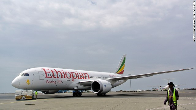 This Ethiopian Airlines Dreamliner was the first to resume commercial services on April 27, 2013, after the global grounding of the 787. All 50 Dreamliners delivered to eight airlines are expected to be back in the air by mid June.