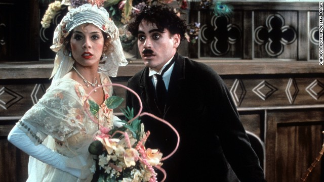 "The actor's 1992 role as Charlie Chaplin in the film ""Chaplin,"" in which he starred with Marisa Tomei, earned him a Best Actor Oscar nomination."