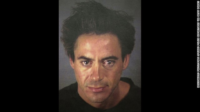 "Nearly four months after being released from prison, Downey was arrested in a Palm Springs, California, hotel room on charges of cocaine and Valium possession and being under the influence of drugs. He was released on $15,000 bail the following day. He returned to the ""Ally McBeal"" set shortly thereafter."