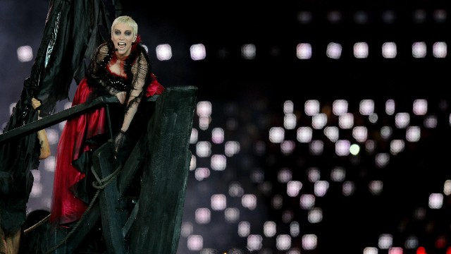 Scottish singer-songwriter Annie Lennox delivered the commencement address at Berklee School of Music in Boston on May 11 -- and broke into song, too. She received an honorary doctorate of music, along with Carole King and Willie Nelson. Here, Lennox performs during the closing ceremony of the 2012 Olympics in London.