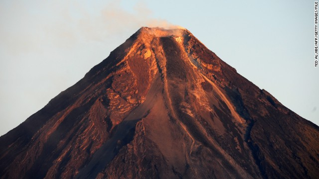 An almost perfect cone shape, Mayon last erupted in 2010 and forced thousands of people to flee from their homes.