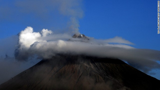 Mount Mayon is the most volatile of more than 50 volcanoes -- 22 of which are considered active -- that are scattered across the Philippine archipelago.