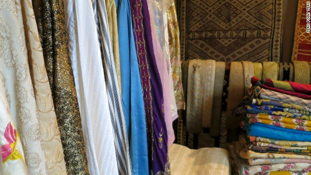 Boutique Majid is also known for its textiles.