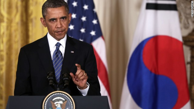 Obama: &#039;North Korea has failed again&#039;