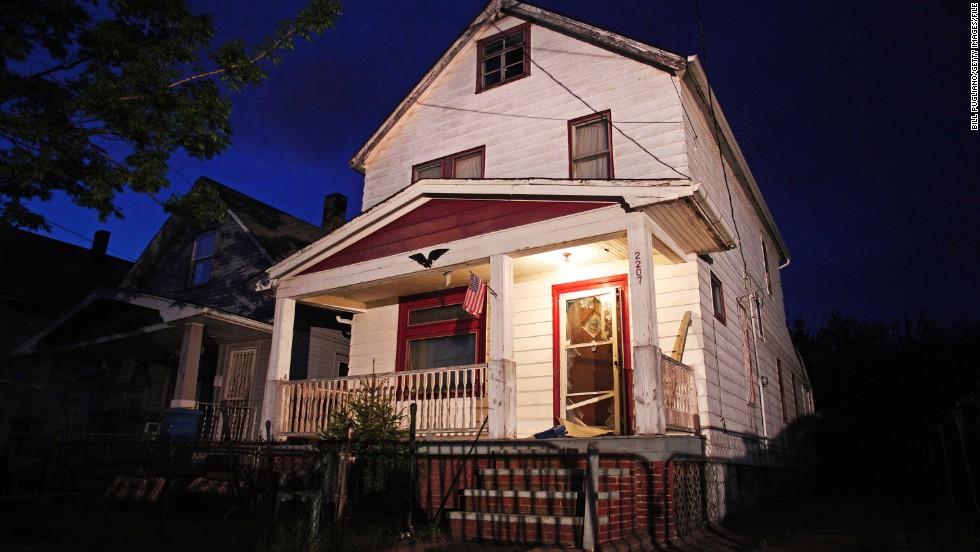 La casa del horror en Cleveland