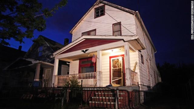 Una auténtica casa del horror en Cleveland