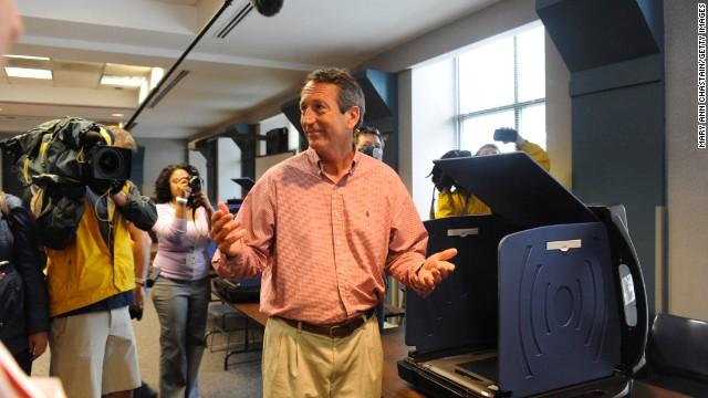 Sanford wins South Carolina House vote
