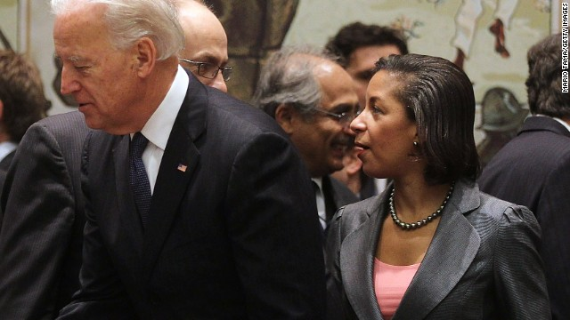 Biden on Susan Rice: She speaks for the president