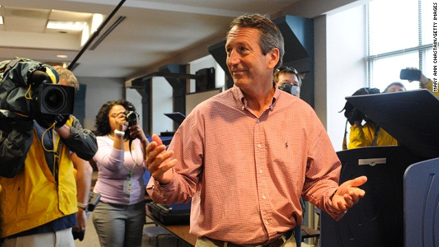 Mark Sanford gana elección legislativa en Carolina del Sur
