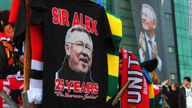 The next season, United commemorated Ferguson's 25 years as manager on November 5, 2011.