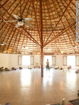 Choose from more than 10 varieties of yoga at Maya Tulum on the Mexican Rivera and enjoy a spa treatment or nap on the beach afterward -- or both.