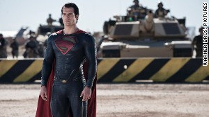 Henry Cavill stars as Superman in \