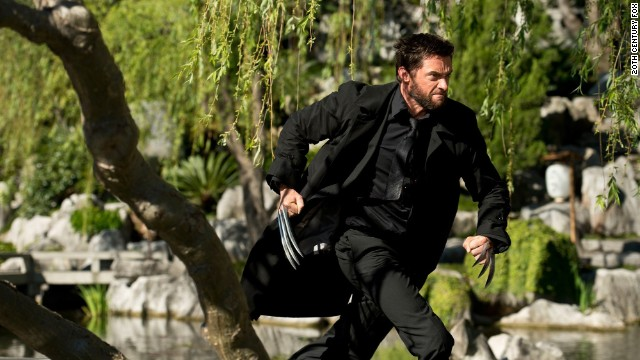 "Hugh Jackman reprises his role as Logan/Wolverine in 20th Century Fox's ""The Wolverine,"" as ""Blue Jasmine"" and ""Fruitvale Station"" debut."