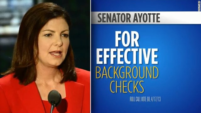NRA airs 'thank you' ad for Ayotte for gun vote