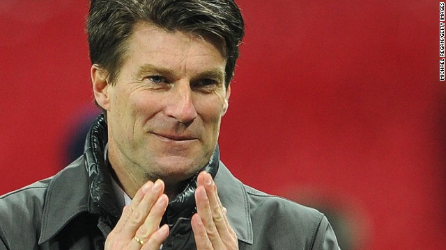 Michael Laudrup is also seen as a contender after a successful first season in the English Premier League with Swansea, guiding the Welsh club to the League Cup trophy. The former Barcelona star has previous managerial experience in Spain with Getafe and Mallorca, and in Russia with Spartak Moscow.
