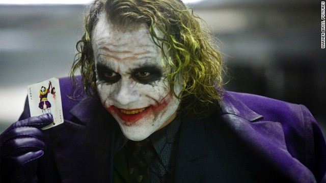 "Heath Ledger's Joker is one of the most disturbing villains on this list. His role in 2008's ""The Dark Knight"" earned him an Academy Award for best supporting actor."