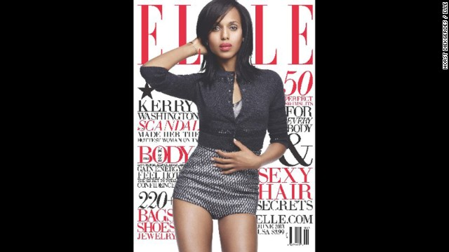Kerry Washington: I&#039;m the luckiest broad in Hollywood