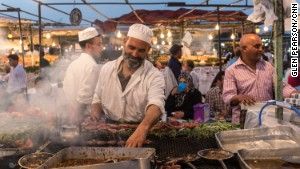 Fancy a camel spleen kebab or a super-sweet, deep-fried, sesame cookie? Here\'s the lowdown on street snacking, Moroccan-style.