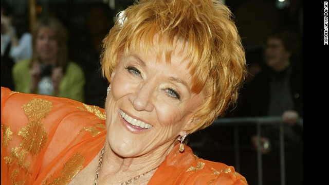 Jeanne Cooper, who played Katherine Chancellor, the