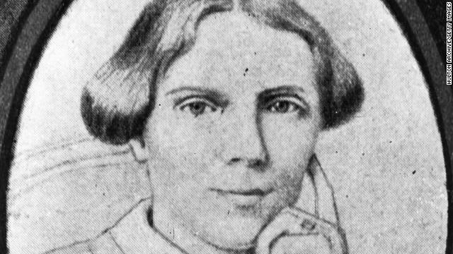 <a href='http://www.nlm.nih.gov/changingthefaceofmedicine/physicians/biography_35.html' target='_blank'>Elizabeth Blackwell</a> (1821-1910) was the first woman doctor in the United States. She said that she went into medicine because a close friend who was dying told her that having a female physician would have spared her the worst suffering.