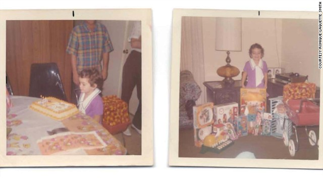 Ronique Smith enjoys her 3rd birthday in 1972. Her happy childhood ended with her kidnapping at 4.