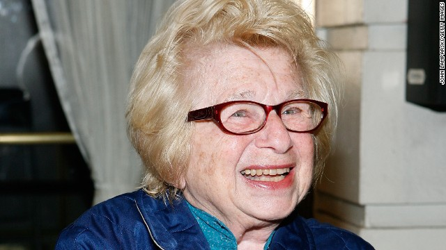 "Sex therapist <a href='http://www.drruth.com/' target='_blank'>Ruth Westheimer</a> has made a career of talking openly about sex, educating and advising the world about intimate matters. When she did her doctorate, ""Nobody talked about contraception,"" she told Dr. Drew Pinsky in 2012."