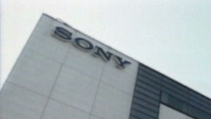 Sony back in the black