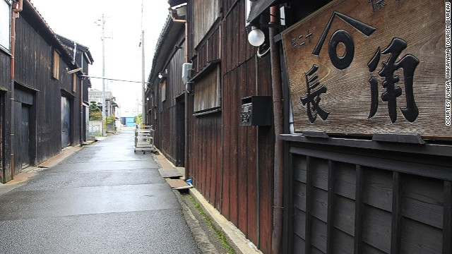 Kadocho is the oldest soy sauce brewery left in the area. It opened 72 years ago in the same location.