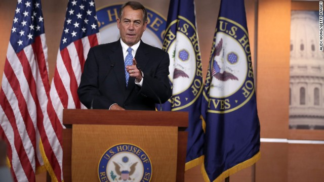 Boehner signals GOP focus now on debt ceiling