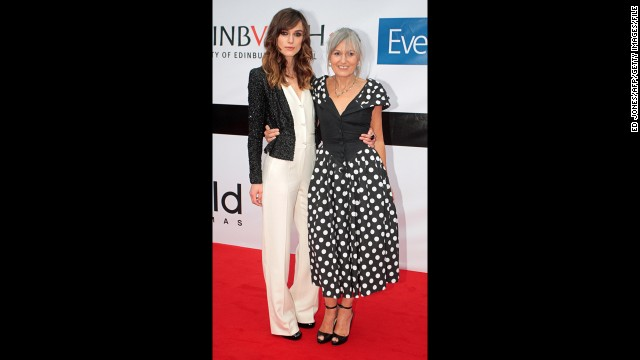 Keira Knightley's mother, Sharman Macdonald.