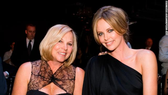 Charlize Theron's mom, Gerda Theron.