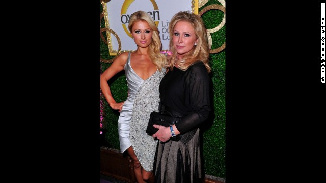 Paris Hilton's mom, Kathy Hilton.