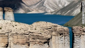 Many travelers seek out Afghanistan\'s mountain-rimmed lakes in the Hindu Kush.