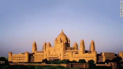 India's palace hotels fit for a king