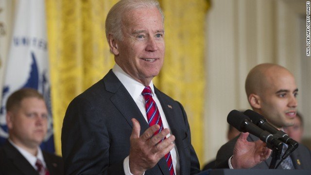 Biden says he could 'die a happy man' never being president