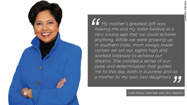Indian-American business executive Indra Nooyi is the present chairperson and CEO of PepsiCo. Last year, <a href='http://www.forbes.com/profile/indra-nooyi/' target='_blank'>Forbes</a> ranked her 12th in their Power Women list.
