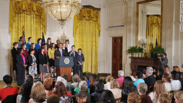 President touts Obamacare benefits for moms